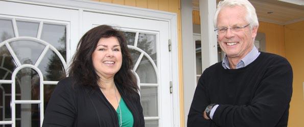 Laila Marie Reiertsen og Ole Johan Sandvand