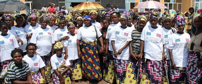 Kvinner som har fått hjelp ved mottakssentrene
