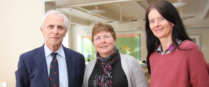 Onno van der Hart, Gun Abrahamsen og Ellen Jepsen