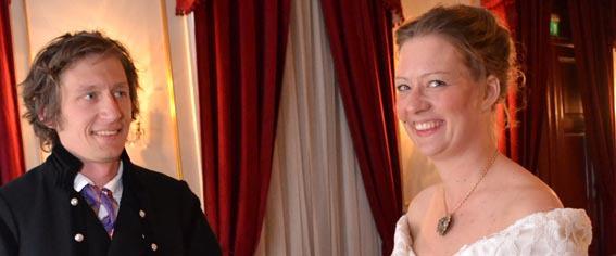 Søsknene Lars og Hilde Grønhovd