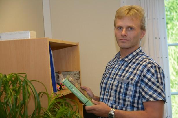 Overlege Arild Jervell - Avdeling for traumelidelser. Bilde tatt til Badeliv nr 1/2014