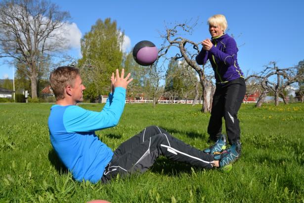 Helsesport, fysisk aktivitet, helsesportpedagoger, Bjørnar Johannessen og Veslemøy Bråten.