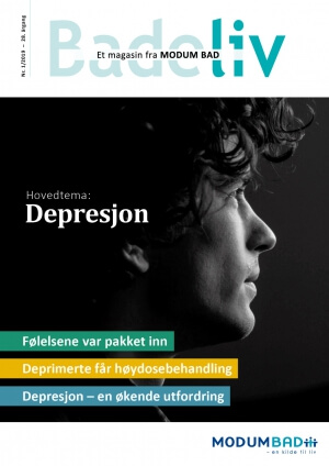 Badeliv nr 1 - 2019. Hovedtema: Depresjon