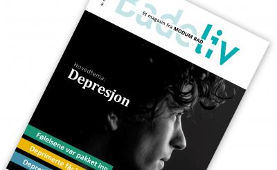 Badeliv nr 1 2019. Hovedtema: Depresjon