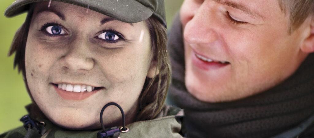 Oda Huru er troppsassistent i teletroppen til Sambandsbataljon / A female soldier Oda Huru during Cold Response 2012