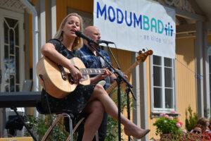 Opplevelsesdagen 2015. Hanne Sørvaag holder konsert.